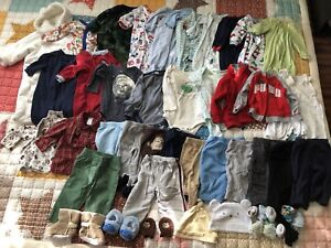 3-6 months baby clothes lot