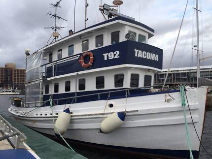 Commercial Fishing Vessel - Abalone Mothership