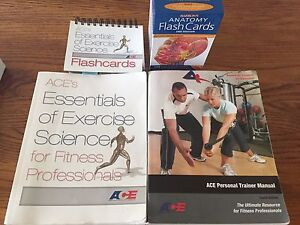 ACE personal trainers text books