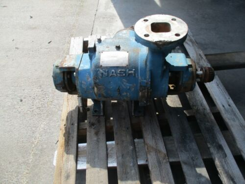 NASH SC-2SS STAINLESS PUMP #729915K USED