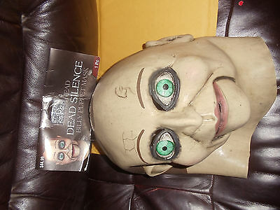 DEAD SILENCE BILLY PUPPET SCARY EVIL HALLOWEEN FULL LATEX MASK TRICK OR TREAT (Dead Silence Mask)