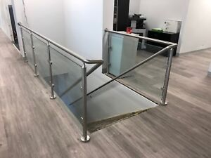 Glass Railings -exterior & interior