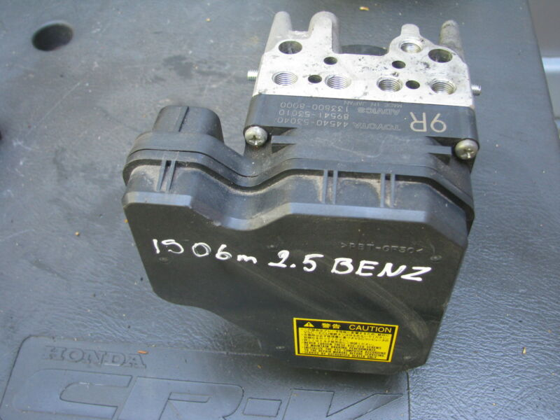 Lexus IS IS250 petrol ABS Pump 44540-53040/89541-53010 used 2006