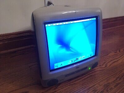iMac G3 Special Edition Grey! Apple 400 MHz/192MB Ram MacOS 10!