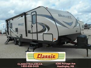 2018 BULLET 269RLS Great new twist to a popluar couples trailer!