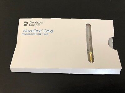 3 Packs Of Tulsa Dental Waveone Gold Small Yellow 21mm. Wave One