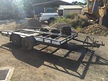 TANDEM AXLE CAR TRAILER FOR SALE! Kyneton Macedon Ranges Preview