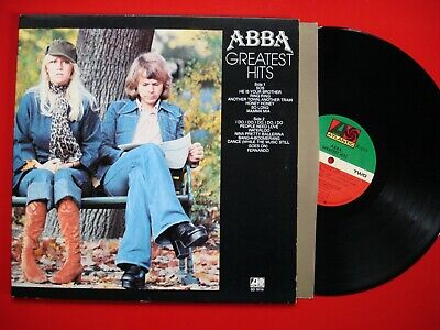 Abba Greatest Hits LP Vinyl Near Mint