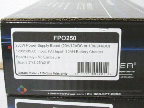 LifeSafety Power FPO250 Access Control + Burglar Alarm Power Supply [CTA]