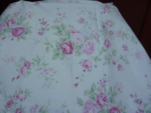 Rachel Ashwell Shabby Chic Boutique RARE Wild Flower Bouquet Ivory Pink Fabric