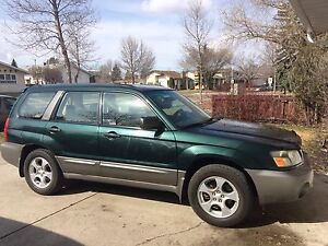 Wanted 2001-2003 Subaru Forester
