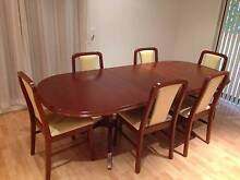 Dining table & chairs timber Penrith Penrith Area Preview