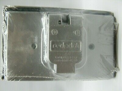 Red Dot Rccs S300e Weatherproof Single Outdoor Electrical Box Outlet Cover New