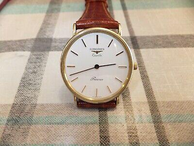 Fantastic Vintage  9 ct gold  longines  Presence  Quartz   watch .