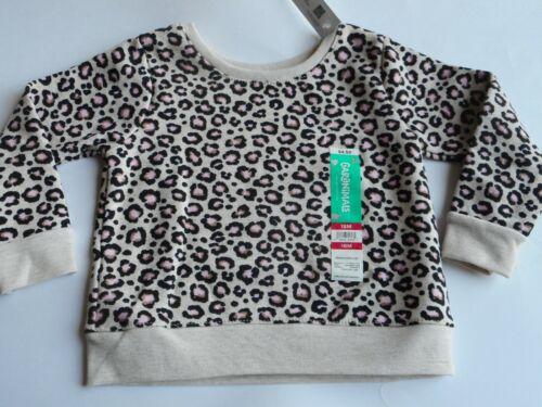 Sweatshirt Baby Toddler Kids Girls Outerwear Leopard Garanimals 12 18 Months