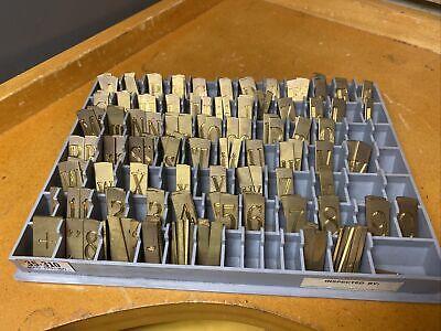 Gravograph Double Line Master Copy Brass Engraving Font Set Letters