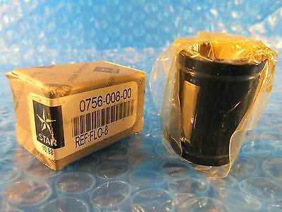 Bosch Rexroth Star 12 Super Linear Bushing Open Type 0756-08-00 Flo-8
