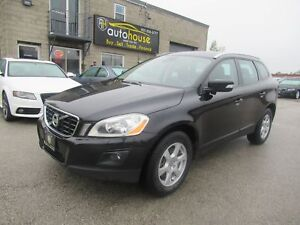 2010 Volvo XC60 3.2 AWD, 3.2 6CYL, BLIS, LEATHER, SUNROOF, BL...