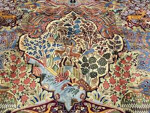 EXQUISITE QUALITY EXTRA LARGE GARDEN DESIGN PERSIAN KASHMAR RUG Crows Nest North Sydney Area Preview