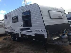 2013 Blue Sky Vienta Caravan with Ensuite Clarence Park Unley Area Preview