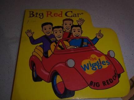 wiggles big red car book
