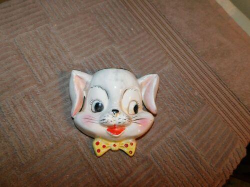 Bunny Wall Pocket Vintage Japan Rare