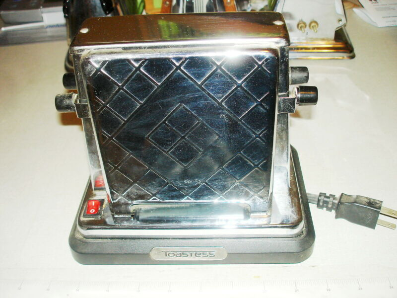 Vintage ELECTRIC TOASTER - TOASTESS #2000 w/ Cord (China)