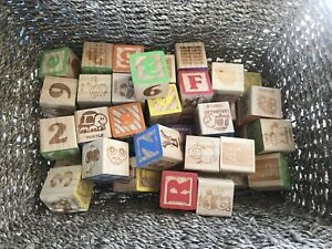 Wooden Alphabet Blocks Kijiji In Ontario Buy Sell Save With