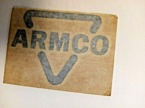 NICE OLD ARMCO COAL COMPANY COAL MINING STICKER