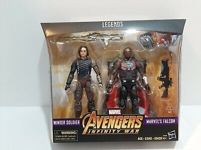 Avengers Marvel Legends Series Infinity War Falcon and Winter soilder.NEW/Sealed