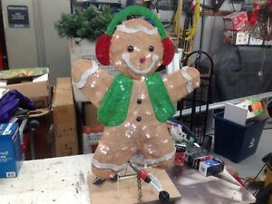 Gingerbread Man Christmas Outdoor Decorations