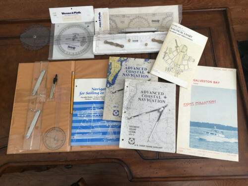 NAUTICAL NAVIGATION TOOLS AND LEARNING LOT