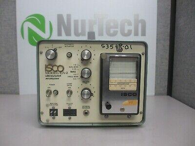 Isco Ua-2 Ultraviolet Analyzer