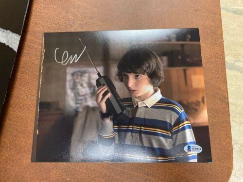 Finn Wolfhard Autograph 8x10 Photo Stranger Things Signed BAS COA