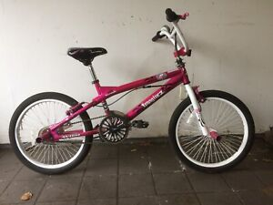 "Girls BMX Bike - 20"" tires"