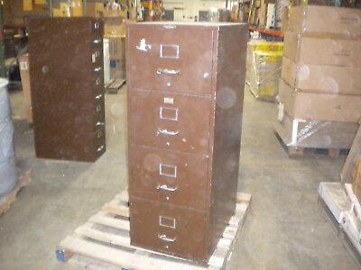 Remington Rand Safe File Cabinet Fireproof 4 Drawer Wlock And Keys