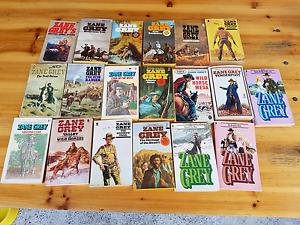 Western books zane grey plus more Cessnock Cessnock Area Preview