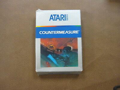 COUNTERMEASURE (COUNTER MEASURE) - ATARI 5200 ** IN BOX WITH OVERLAYS **