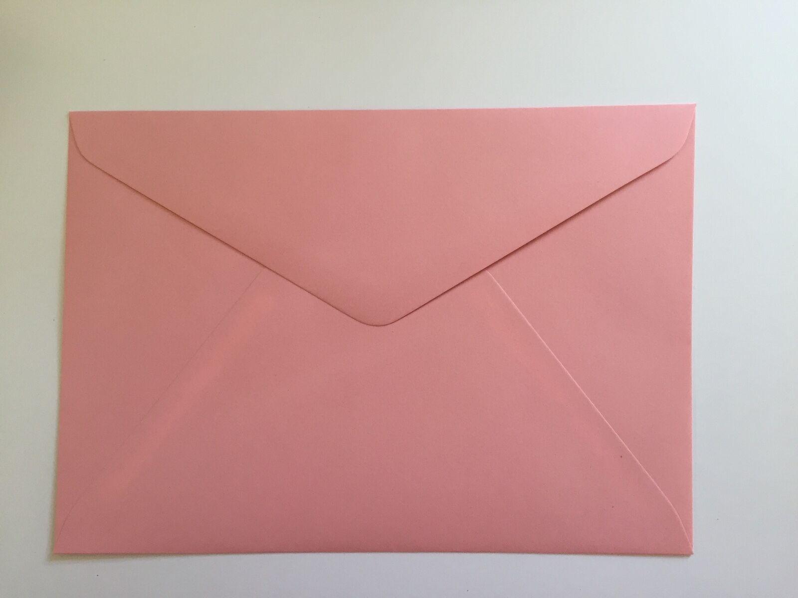 50 C5 Blue Curious Collection Translucent Envelopes Vellum Peel /& Seal