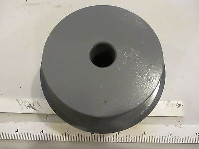 26h100 X 34 Plain Bore Timing Pulley.