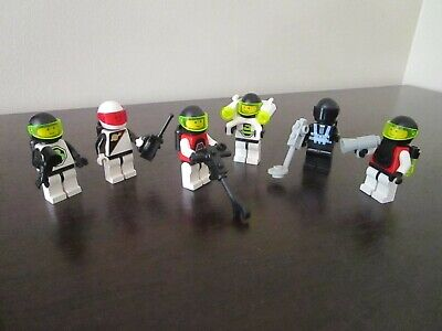 Vintage (1991) LEGO Space M-Tron Blacktron set 6704 Minifigure Pack - VERY RARE