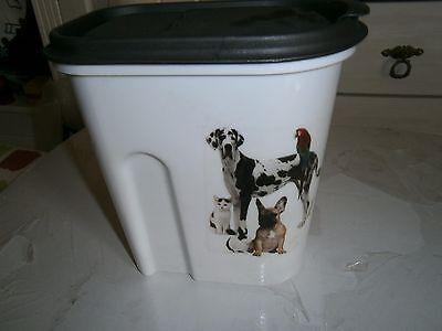 Vorratsdose für Trockenfutter Hund/Katzemotiv  NEU (P5010669-670)  NUR PAYPAL