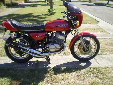 Kawasaki 750 H2A 1973