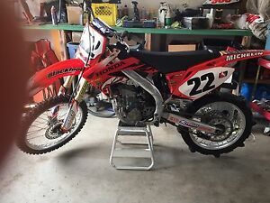 2005 Blackfoot Honda racing Team Bike