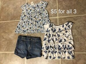 Girls summer clothes size 2-3