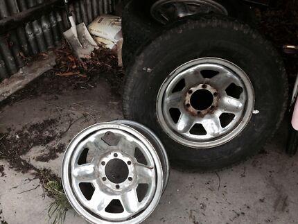 Off road tyres. Steel belt radial Bridgestone 7.50 R16LT Maylands Norwood Area Preview