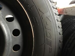 215/60/16 X-ice i3 Tires on Toyota Camry Rims