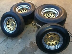 Mickey Thompson Sportsman and Kelly Springfield tires