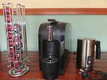 COFFEE MACHINE AND MILK FROTHER plus CAPSULES STAND Melbourne Region Preview