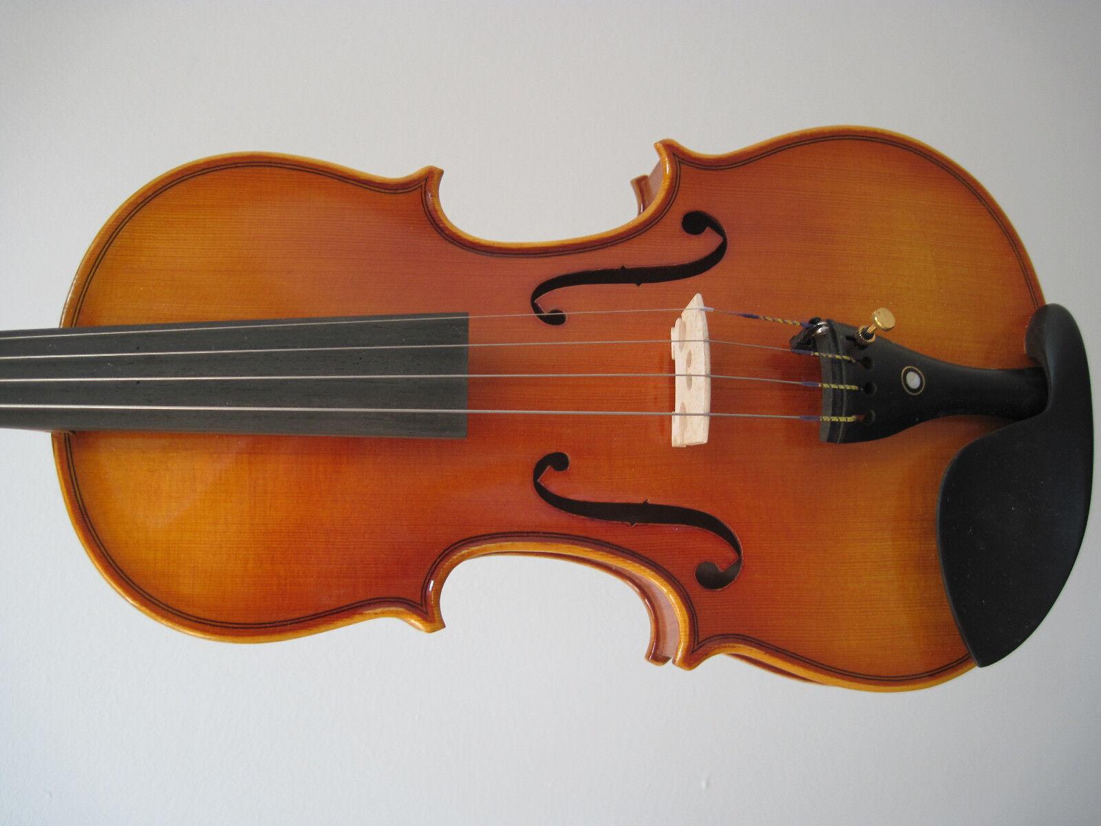 1/2 hochwertige Kindergeige/Violine, Handfertigung und Handlackierung